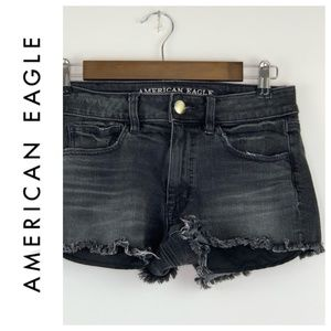 American Eagle Outfitters Shorts - American Eagle High Rise Shortie Distressed 6